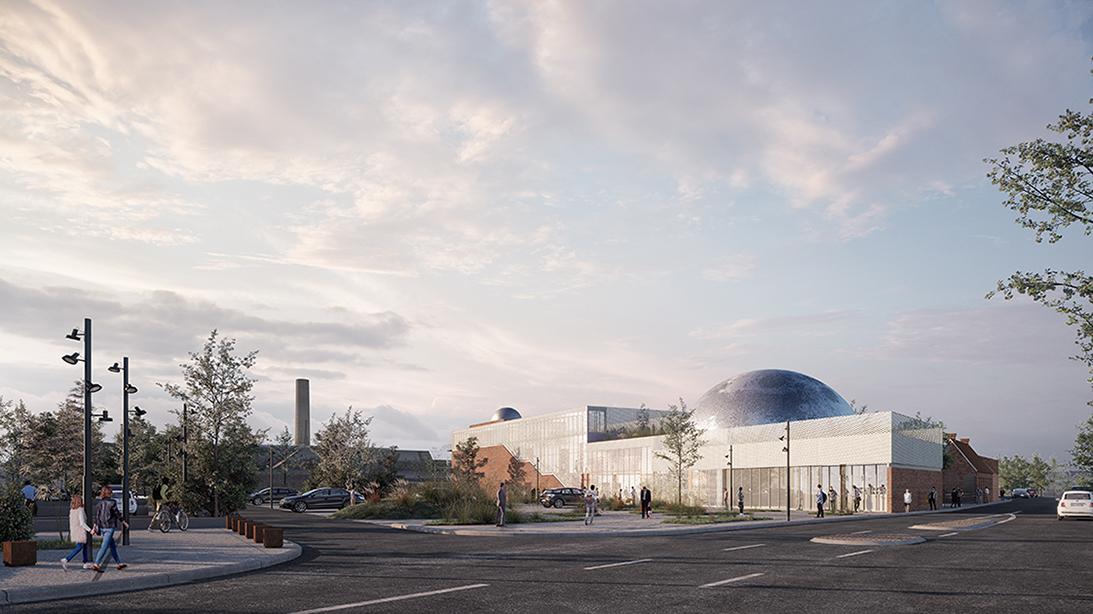 Planétarium et observatoire à Douai