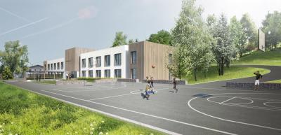 IME, Transformation du bâtiment des Griattes en internat pour enfants et adolescents
